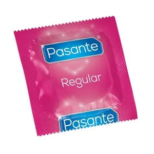 Pasante Regular Condom Foil