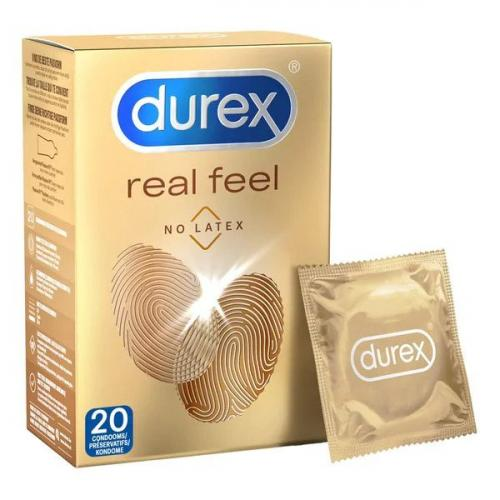 durex real feel condooms - 20 stuks
