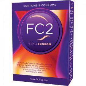 fc2 vrouwencondooms 3 stuks