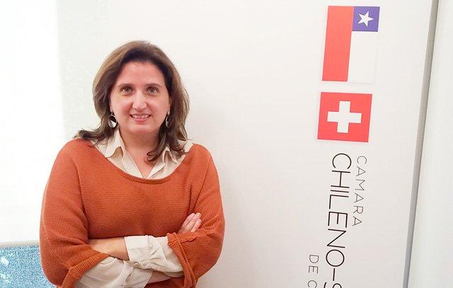 Constanza Cárdenas ist Geschäftsführerin der Chilenisch-Schweizerischen Handelskammer in Santiago de Chile