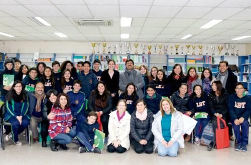 Auch im Colegio Bicentenario de Talagante wird «Redes de Tutoría» von den Schülern angewendet.