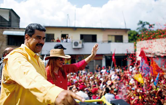 Proteste gegen Präsidentenwahl in Venezuela