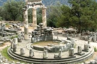 Apollon-Tempel im griechischen Delphi. Seine Inschrift lautet: «Erkenne dich selbst»