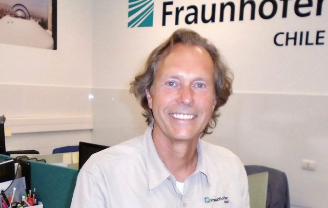 Professor Dr.-Ing. Frank Dinter, Leiter des Centers für Solarenergie CSET Fraunhofer Chile Research