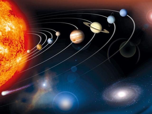 Durch die Arbeiten von Kopernikus und Kepler erwies sich das geozentrische Weltbild als überholt. Die Sonne stand von nun an im Mittelpunkt des Planetensystems.
