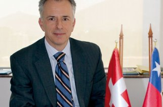 Arno Wicki, Botschafter der Schweiz in Chile