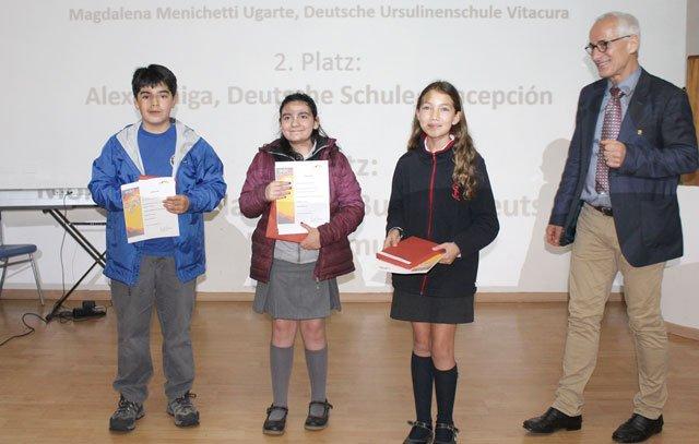 Sieger Vorlesen bei Deutsch lebendig