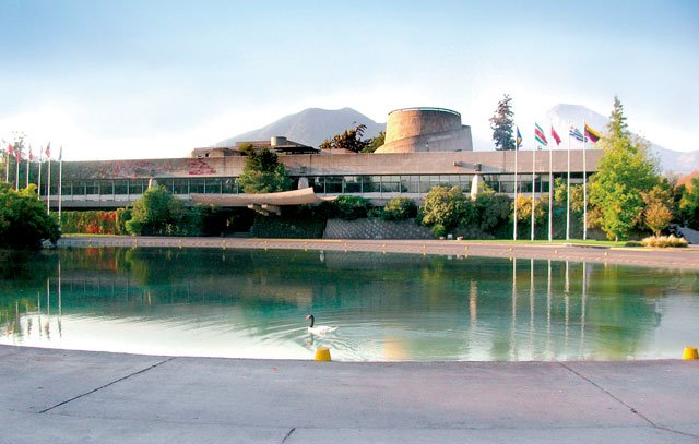 Neue Funktionalität in der chilenischen Architektur: Das Gebäude der CEPAL (Wirtschaftskommission der Vereinten Nationen für Lateinamerika) von Emilio Duhart wurde 1966 in Vitacura eingeweiht.