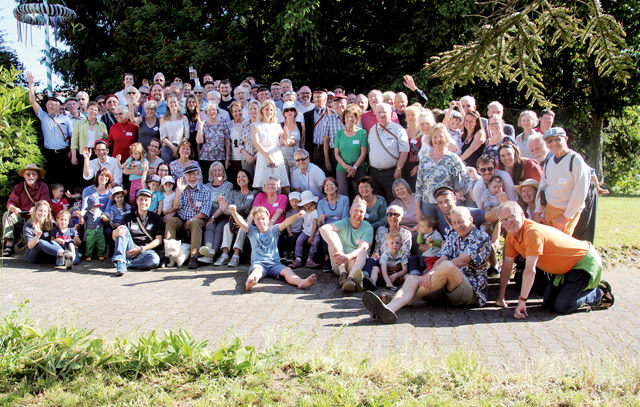Rekordverdächtige 125 Teilnehmer: Der Freundeskreis chilenischer Burschenschaften in Deutschland traf sich in diesem Jahr in Friedrichshafen.