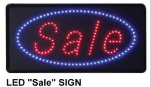 LED entrance sign