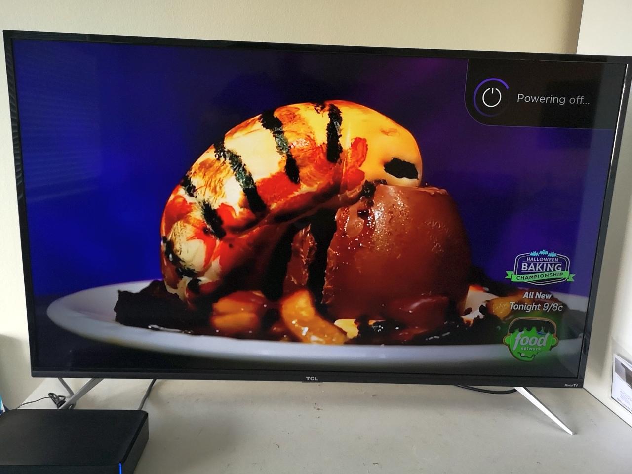 "55"" 4K LCD high definition TV"