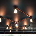 Conduit lighting - Tarnished