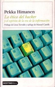 Portada del libro la ética del hacker