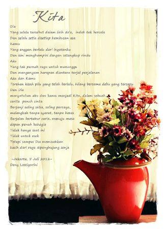 Coretan Kata Untuk Suami Tercinta