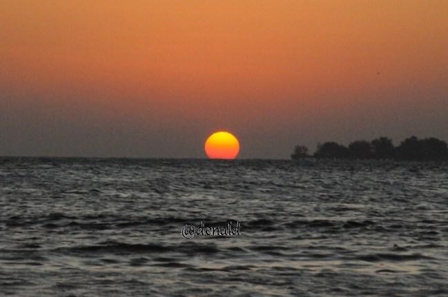 Sunset Tanjung Gelam