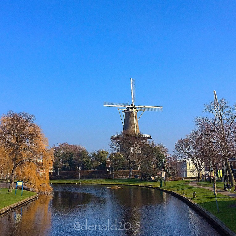 Kincir angin tempat Museum De Valk