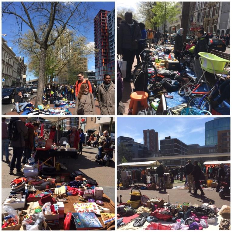 Vrijmarkt di Rotterdam