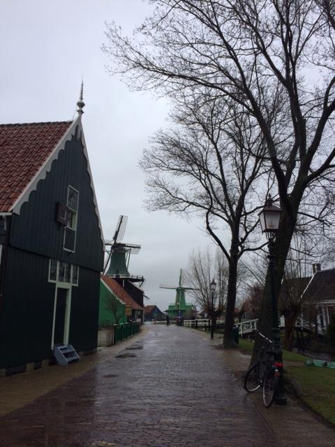 Rumah-rumah asli Belanda