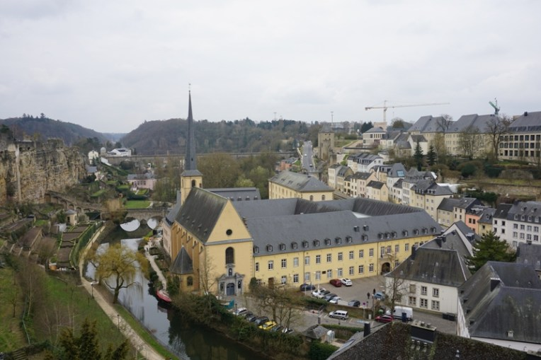 The Old Quarter, Luxembourg City, a UNESCO World Heritage Site in 1994.