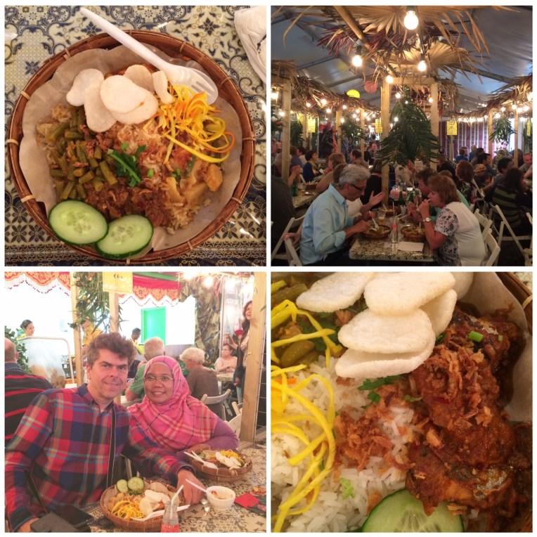 Akhirnya makan nasi rames dan nasi pedas Bali
