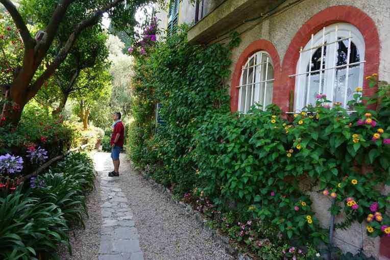 Salah satu sudut Kastil Brown - Portofino