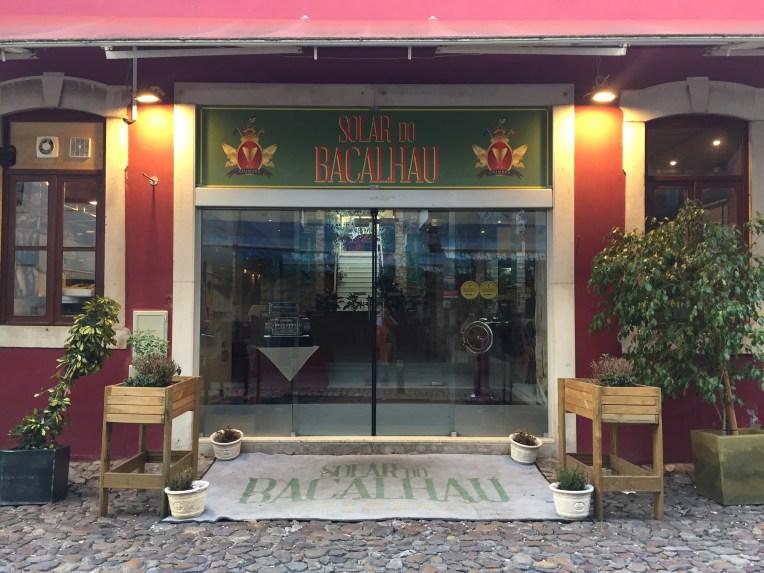 Restoran tempat kami makan selama dua malam di Coimbra