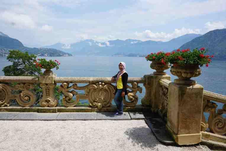 Villa Balbianello - Lake Como - Italy (Saat badan 15kg yang lalu :D)