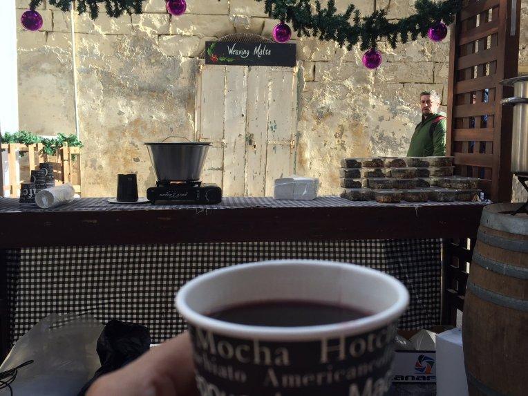 Gluhwein - Natalis Notabilis - Pasar Natal di Malta