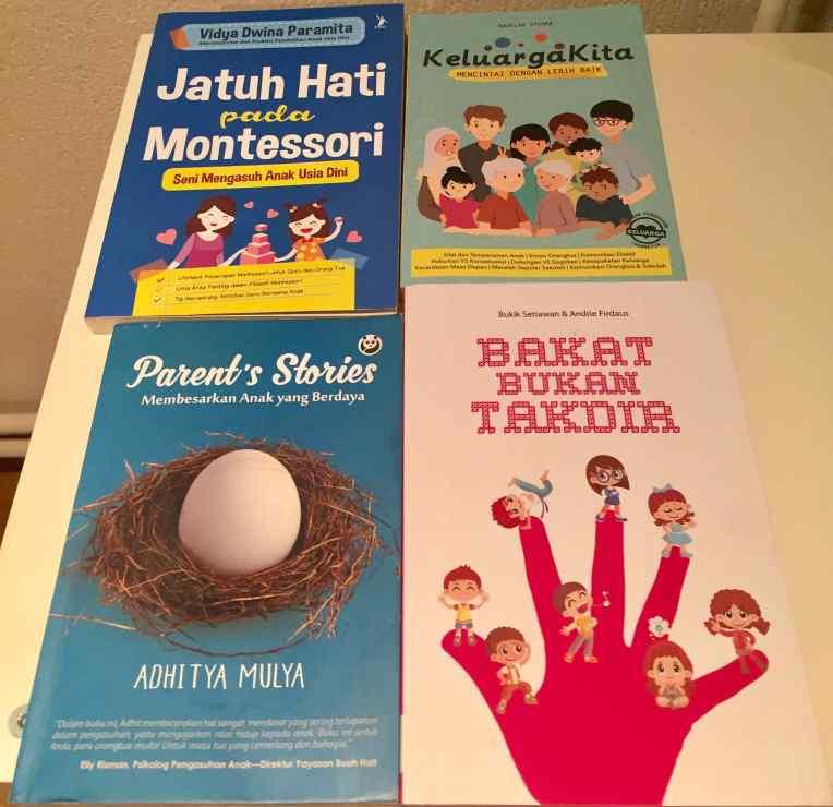 Tiga buku parenting yang tidak ada di goodreads