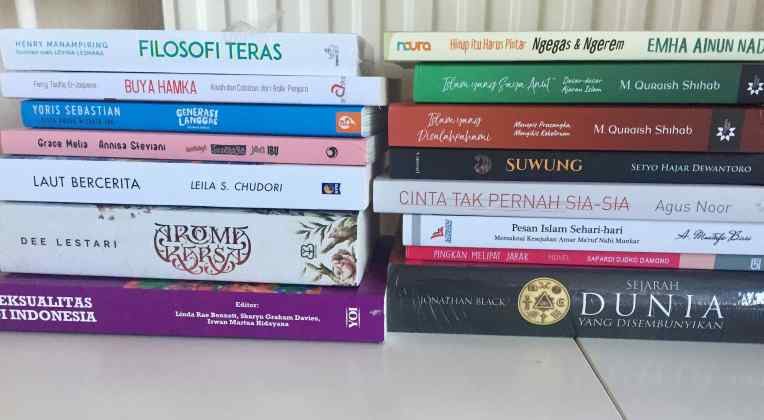 Buku-buku yang rencananya akan dibaca rahun 2019