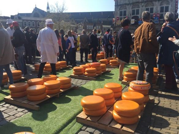 Pasar Keju di Gouda