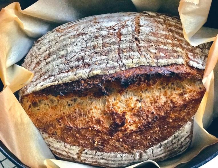 Sourdough Rustic Bread with Multigrain