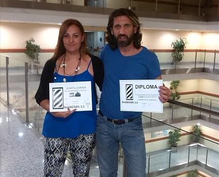 Peluquería Pusa & Mariola en el salón Look 2013 de Madrid