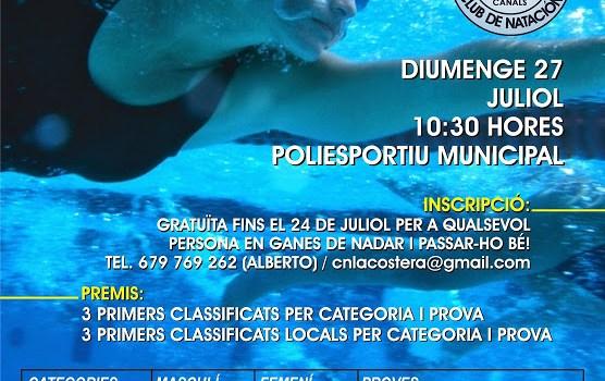 XXXII trofeu de natació fira de Canals