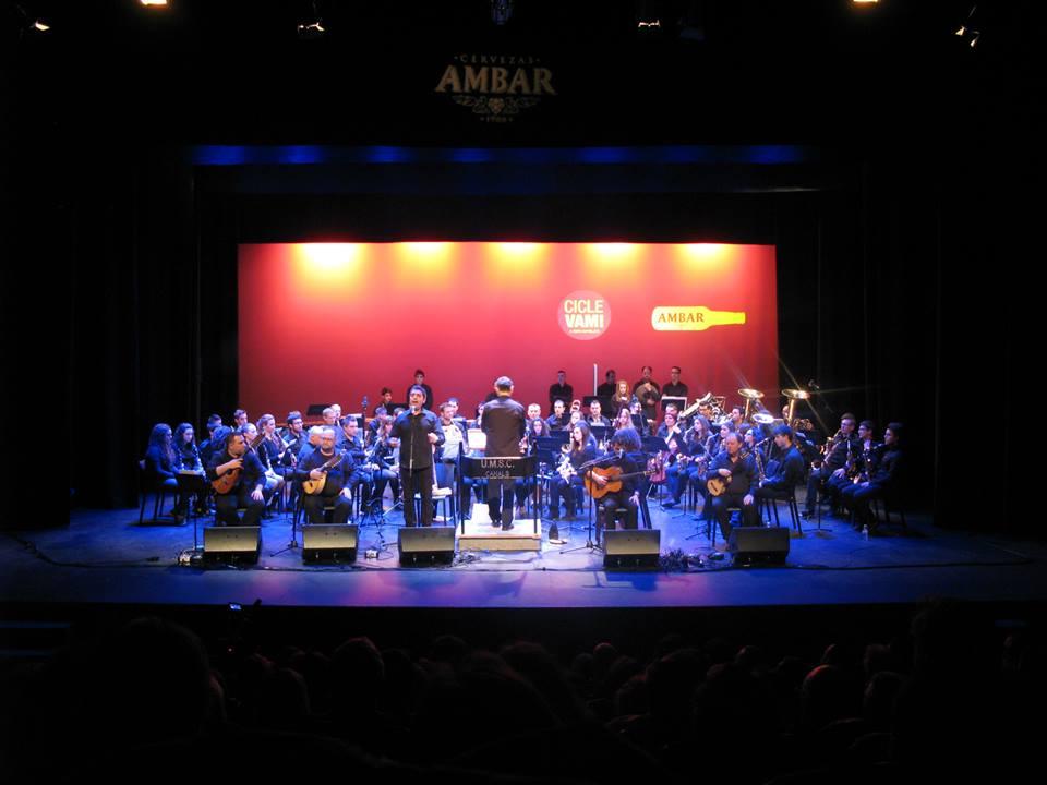 Concerts de la Unió Musical Santa Cecilia en honor a «Santa Cecília» al C.C. Papa Calixte III