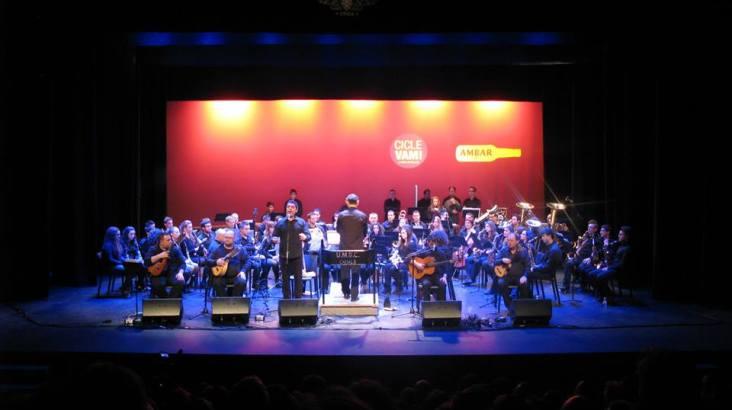 """Concerts de la Unió Musical Santa Cecilia en honor a """"Santa Cecília"""" al C.C. Papa Calixte III"""