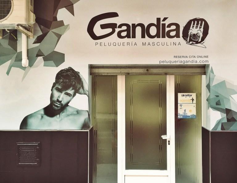 Renovació d'imatge de la peluquería Gandía