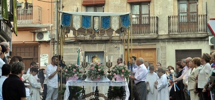 La parròquia de Canals celebra la festa de Corpus Christi
