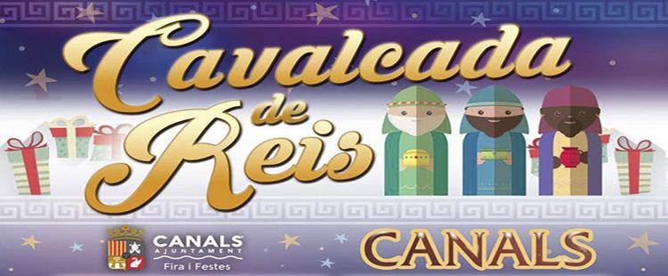 La cavalcada de Reis de canals de demá torna a l'avinguda Jaume I
