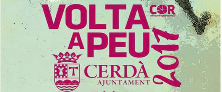 Cerdà celebra dissabte la XIII Volta a Peu