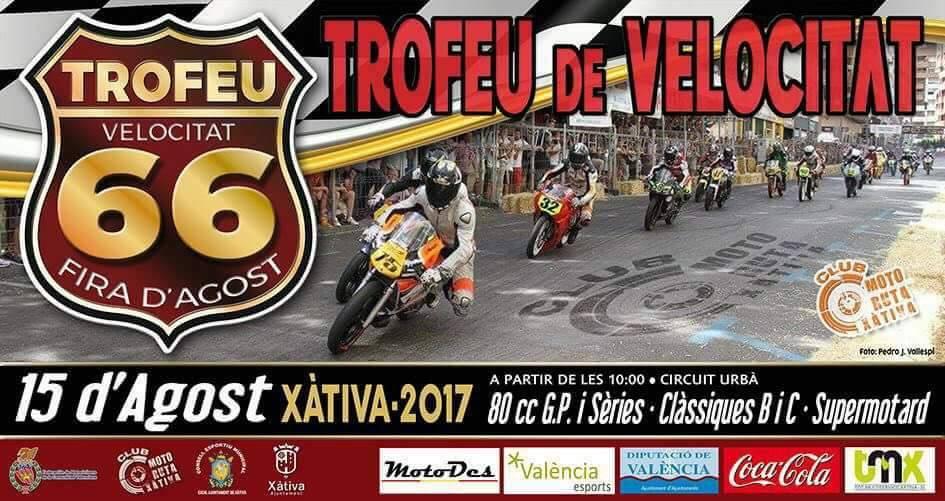 4 canalins participen en la 66 edició del trofeu de velocitat de Xàtiva