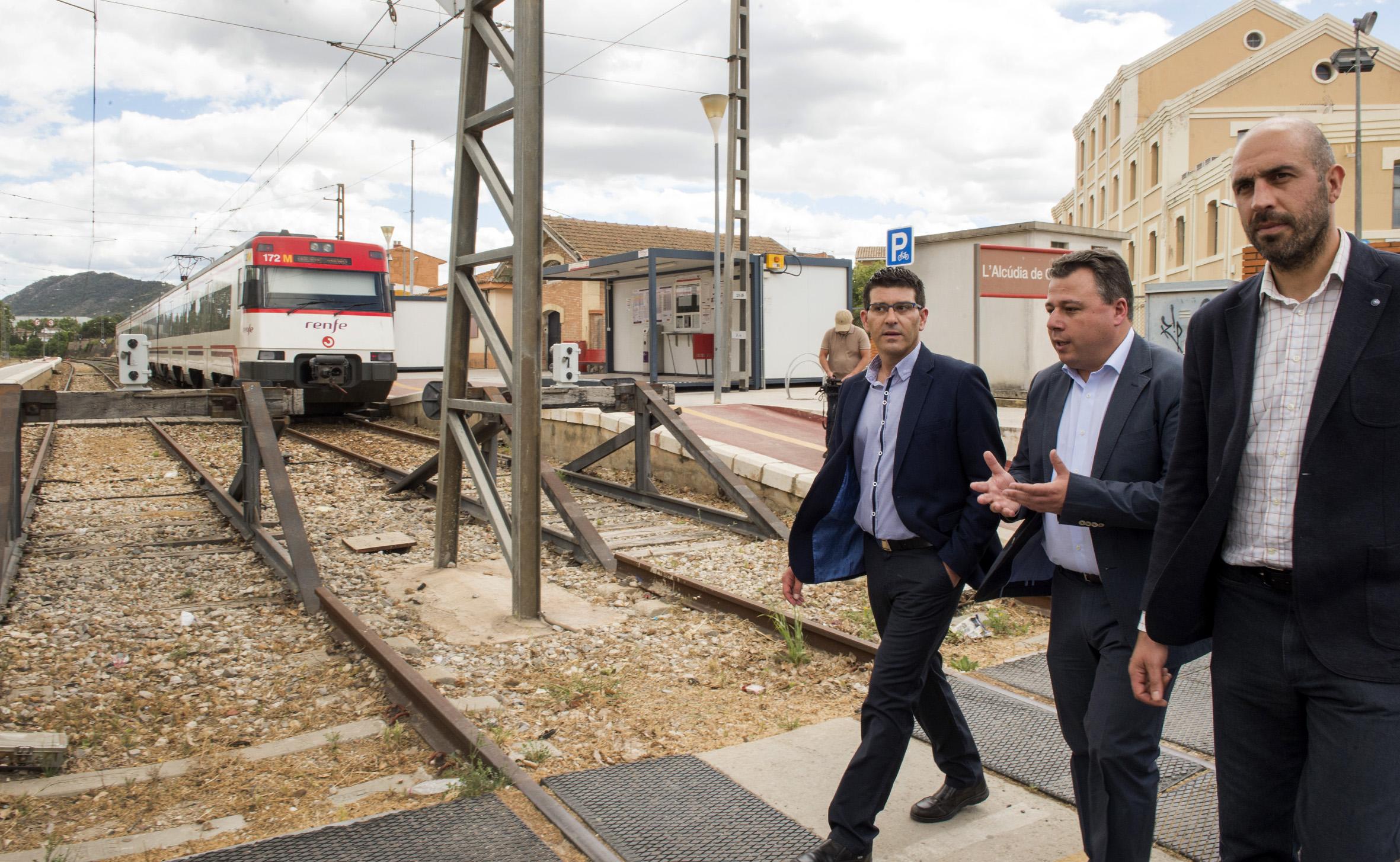 Adif licita el proyecto de renovación de vía y catenaria entre Xàtiva y L'Alcúdia de Crespins