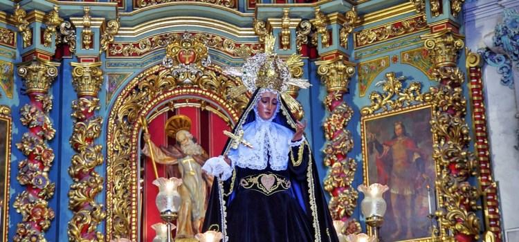 El próxim dissabte día 4 de novembre continua la conmemoració del XXV Aniversari Coronació Mare de Déu dels Dolors amb el sector Parroquia.