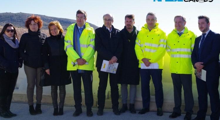 S'inaugura un nou tram de l'autovia A-33 a la Font de la Figuera