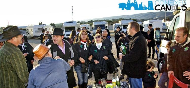 Les Associacions d'Autocaravanistes de València visiten les Festes de Canals