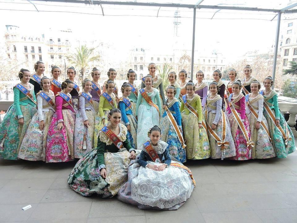 Les Festeres de Sant Antoni estarán al balcó de l'Ajuntament de València estes Falles
