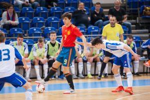 Sala: Jorge Plana, debut goleador con España Sub-19
