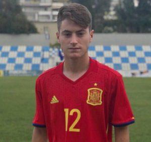 Xavi Estacio se une a los entrenamientos de España Sub-17