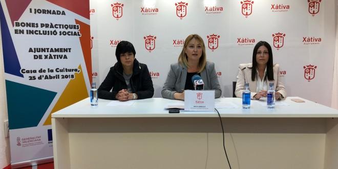 Xàtiva: Benestar Social celebrarà aquesta setmana una jornada de Bones pràctiques en inclusió social i una altra de portes obertes