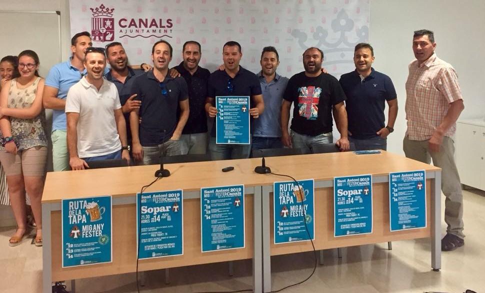 Canals presenta el Mig Any Fester de les Festes Patronals Sant Antoni Abat 2019
